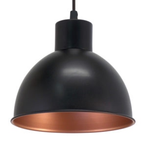 Industrial look pendant light