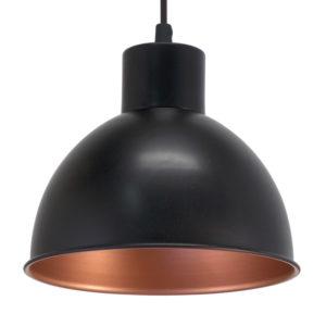 Industrial look pendant light