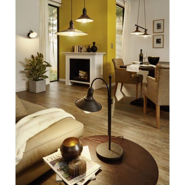 Wall Lighting EGLO 49458 STOCKBURY in an apartmnet interior