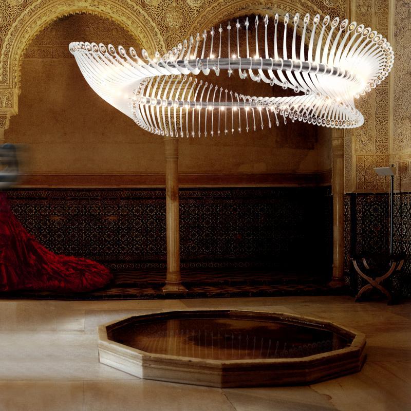 Amazing decorative ceiling luminaire in UAE.