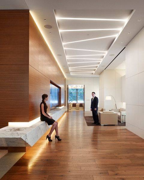 Ceiling LED project.