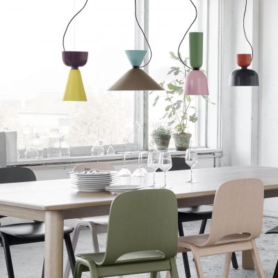 Kitchen pendant lamps.