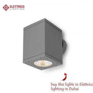 Buy grey square exterior lighting fixture