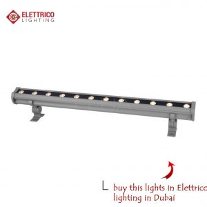 rectangular long searchlight for facade or plant lighting