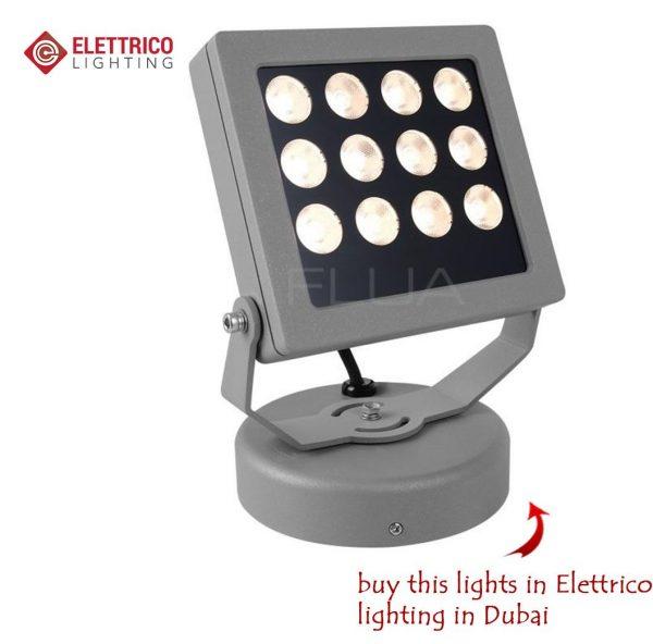 ground LED illumination for garden
