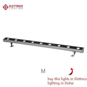 Long led devise with 9 bulbes