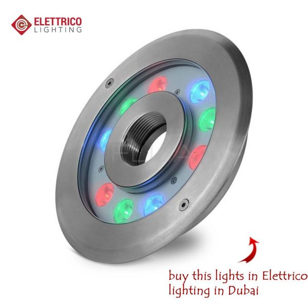 multi-colored spotlight for outdoor use