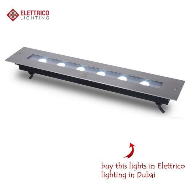 flat metal recessed lights