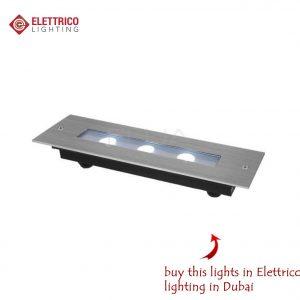 flat metal recessed 3 bulbs item