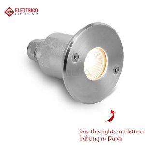 metallic outside lamp