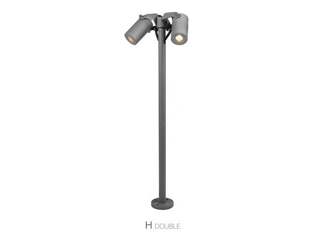 fixture to illuminate a house garden or landscape