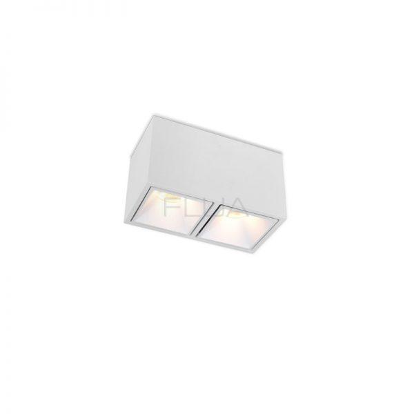 Dual rectangular spot lights