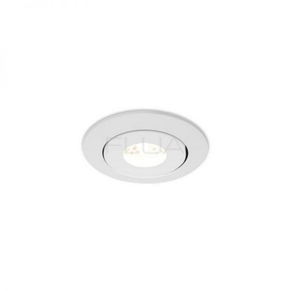 Buy white spotlights in Elettrico showroom.
