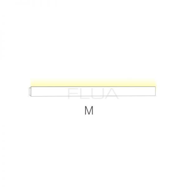 Linear built-in lamp.