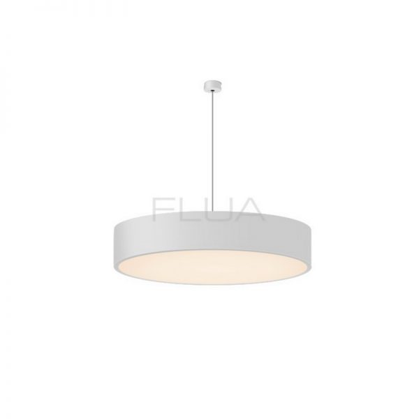 Rounded modern pended light.