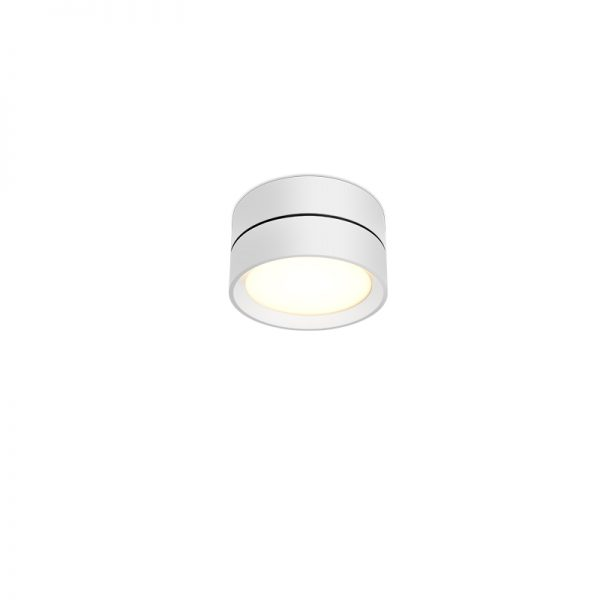 Round ceiling searchlights with thin edge.