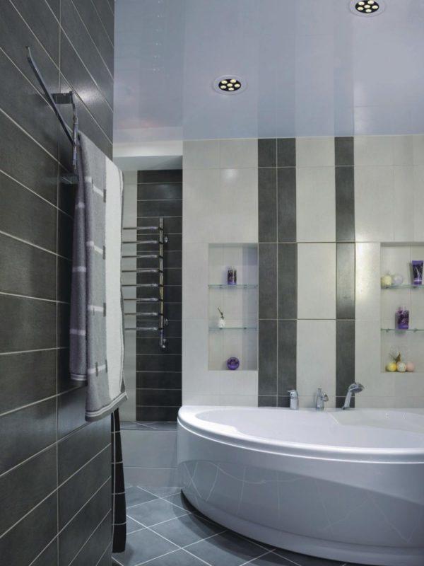 Modern spotlight for a bathroom.