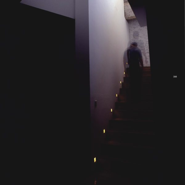 staircase wall lights.