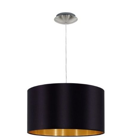 Luxury gold and black Pendant lights MASERLO 31599