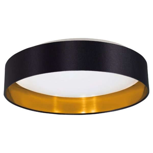 Luxury black and gold ceiling lighting