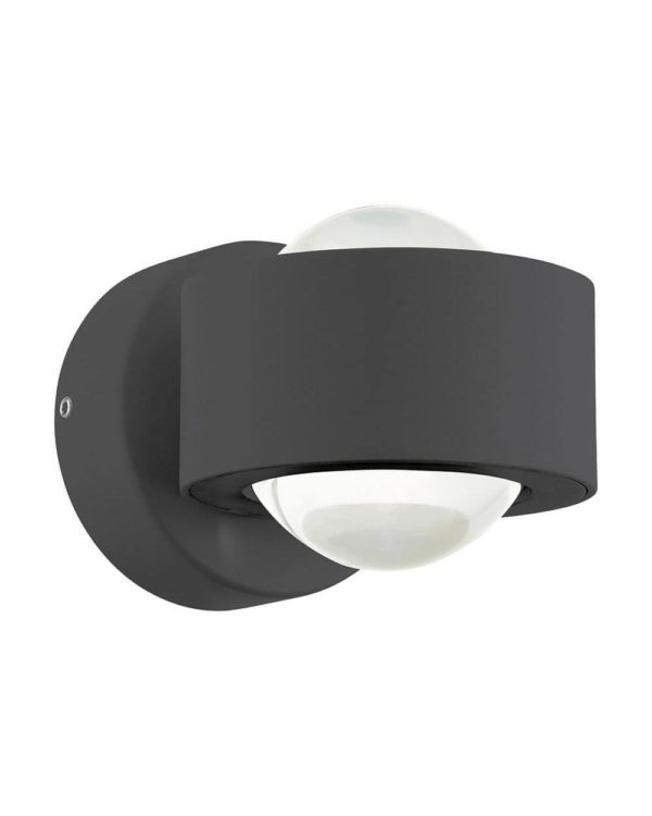 Ono black wall light