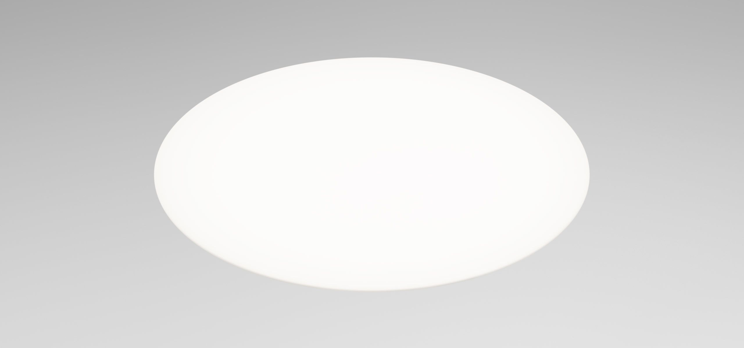 Round light-emitting diode panel for ceiling
