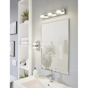 Wall Lights ROMENDO 94651 in an bathroom Interior