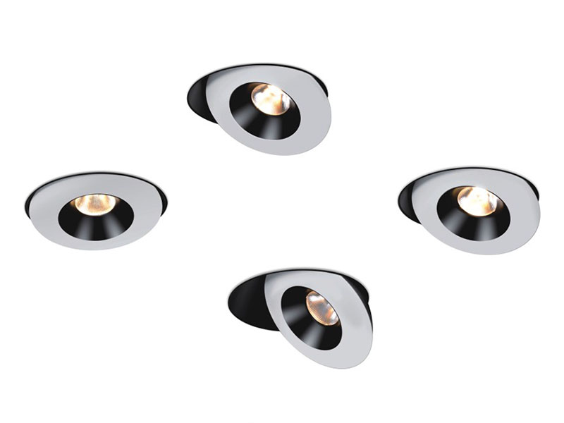Modern adjustable spotlight white & black сolors