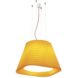 Orange ceiling lighting for a kitchen room brigit