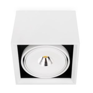 White square spotlight LED