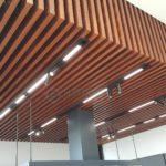 Lighting track system for ceiling