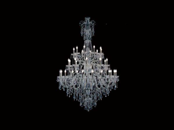 Royal crystal lustre Iris Cristal Bohemia