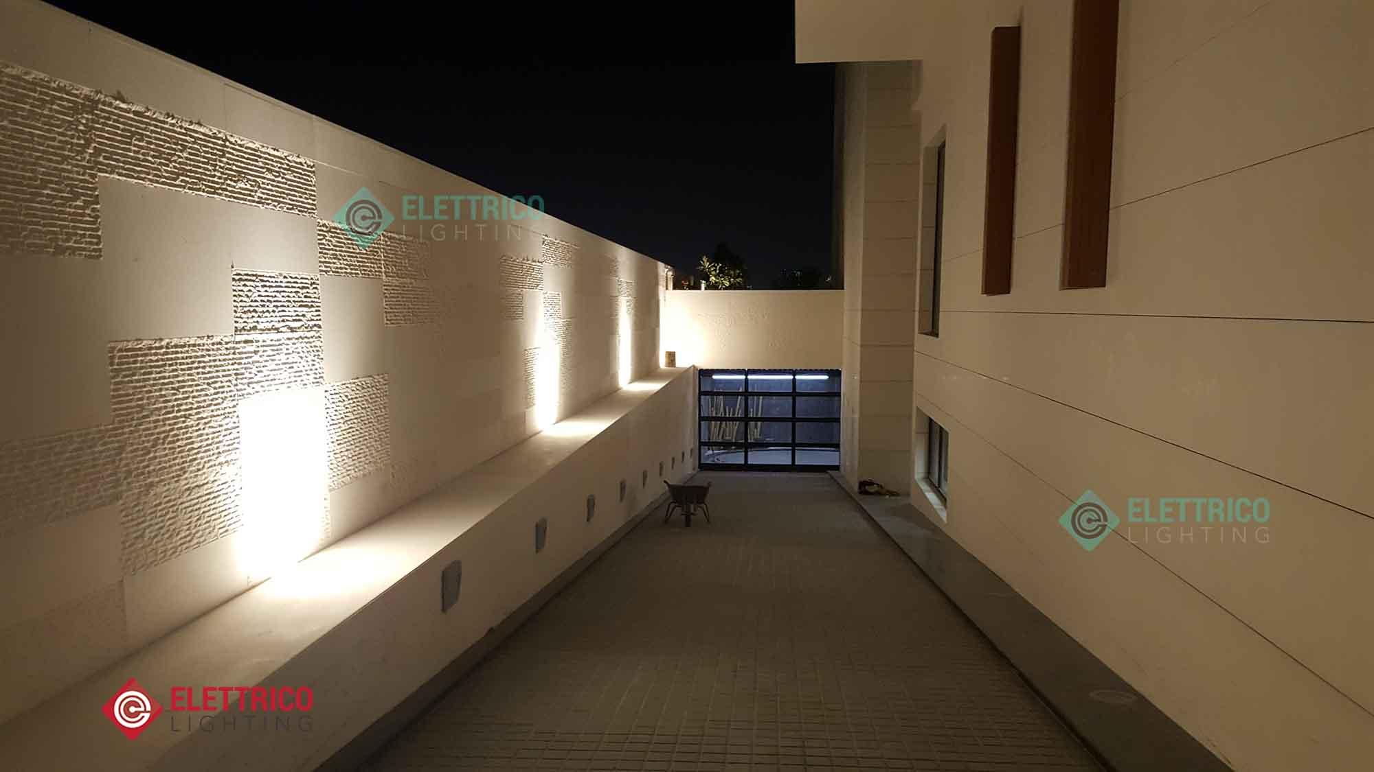Exterior Lighting For Villas Elettrico In Dubai