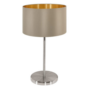 taupe table lamp maserlo brown grey
