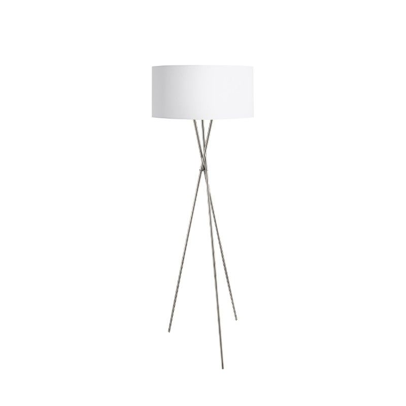 White shade Floor lamp in Dubai showroom.
