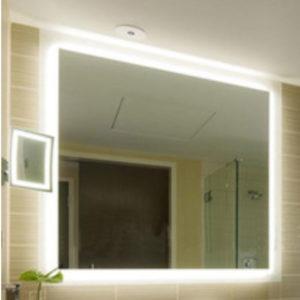 Mirror with Lighting around
