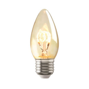Vintage candle bulb