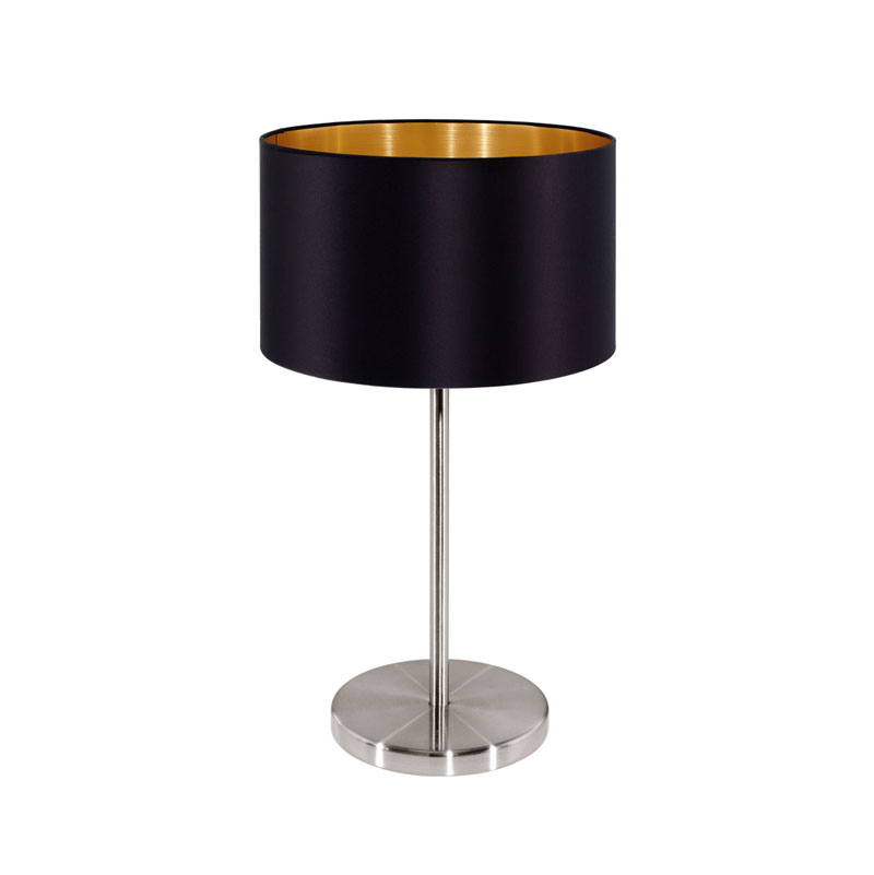 Bedside table lamps made by high end designer.