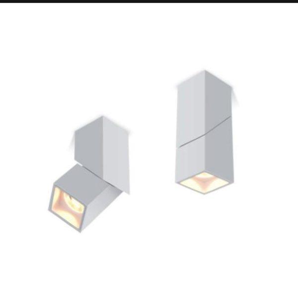 Adjustable squared spotlight.
