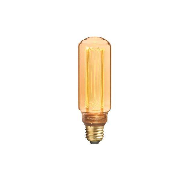 Cylinder shape vintage style bulb.