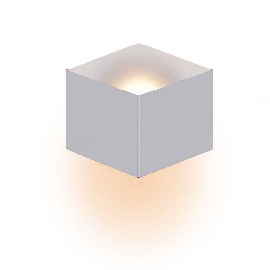 Decorative Wall light Matt Grey matt white color combination.