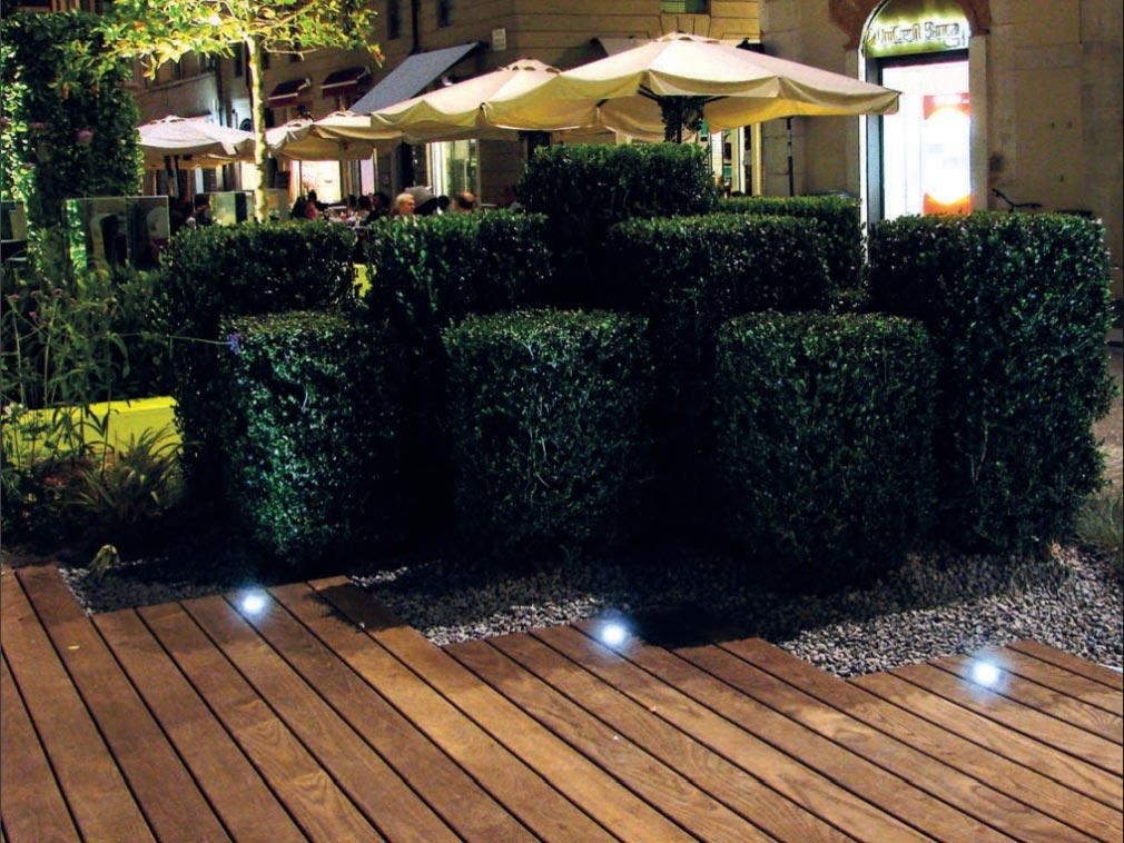 Outdoor Floor Spotlight Elettrico