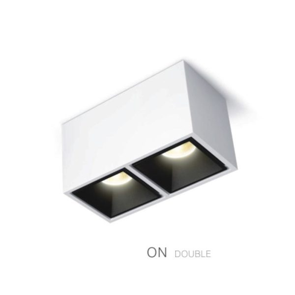 Cubic on double spotlight