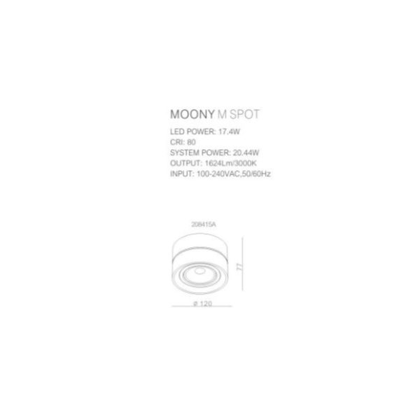 Moony spotlight drawings.