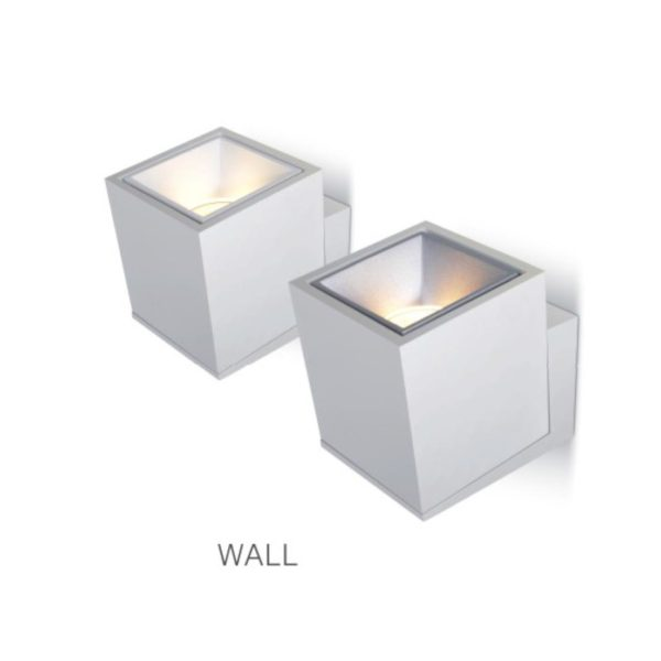 cubic wall lights.