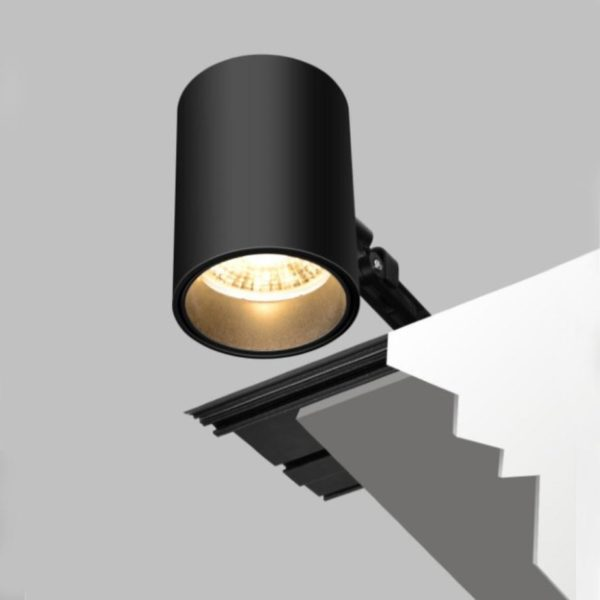 How to install the spotlight to the ceiling.