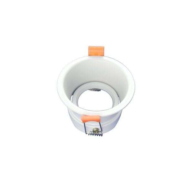 White spotlighting fixture
