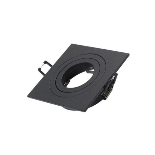 Square spotlight 9003 black