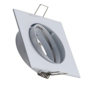 square spot light fixture