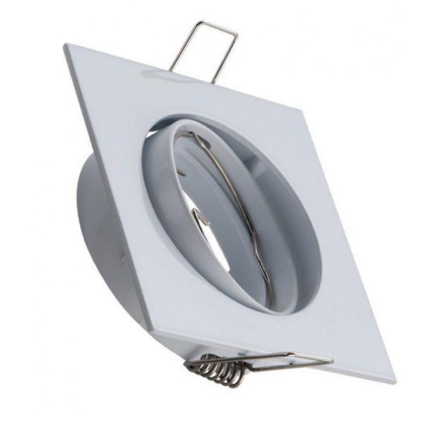 square spot light fixture